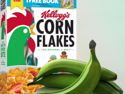 Cornflakes and Plantains - Diely Pichardo