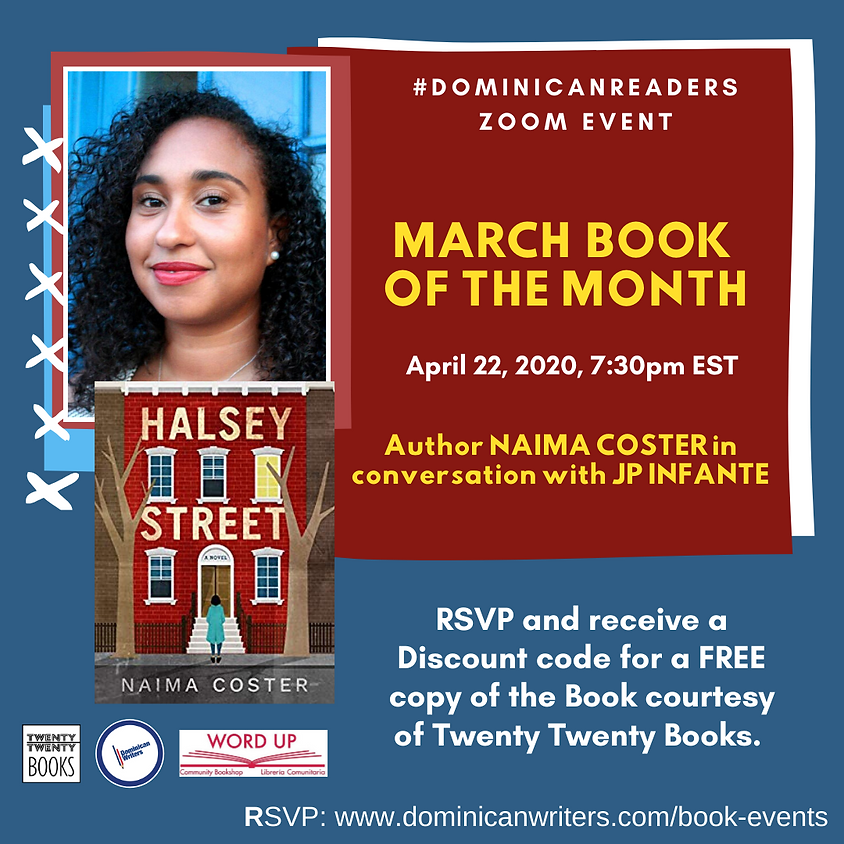 Dominicanreaders: Naima Coster in conversation w/ JP Infante