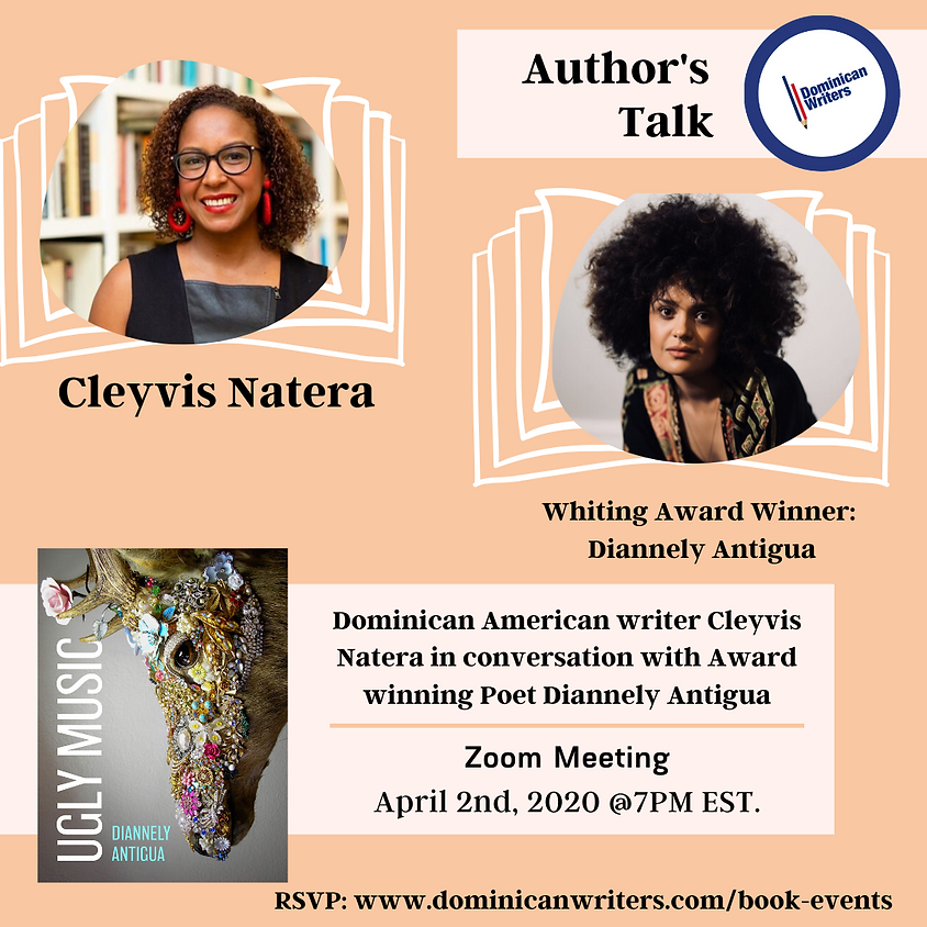 Author Talk: Cleyvis Natera in conversation with Diannely Antigua