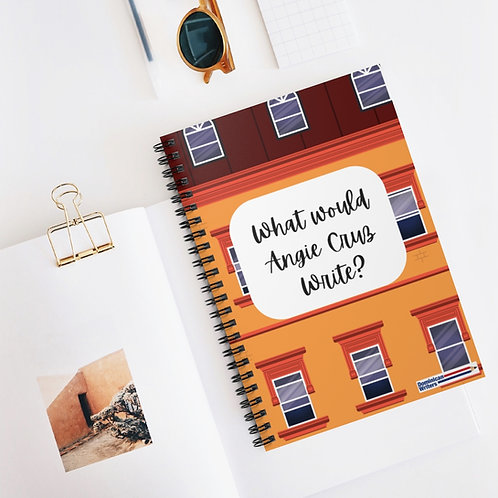 What would Angie Cruz Write? Spiral Notebook