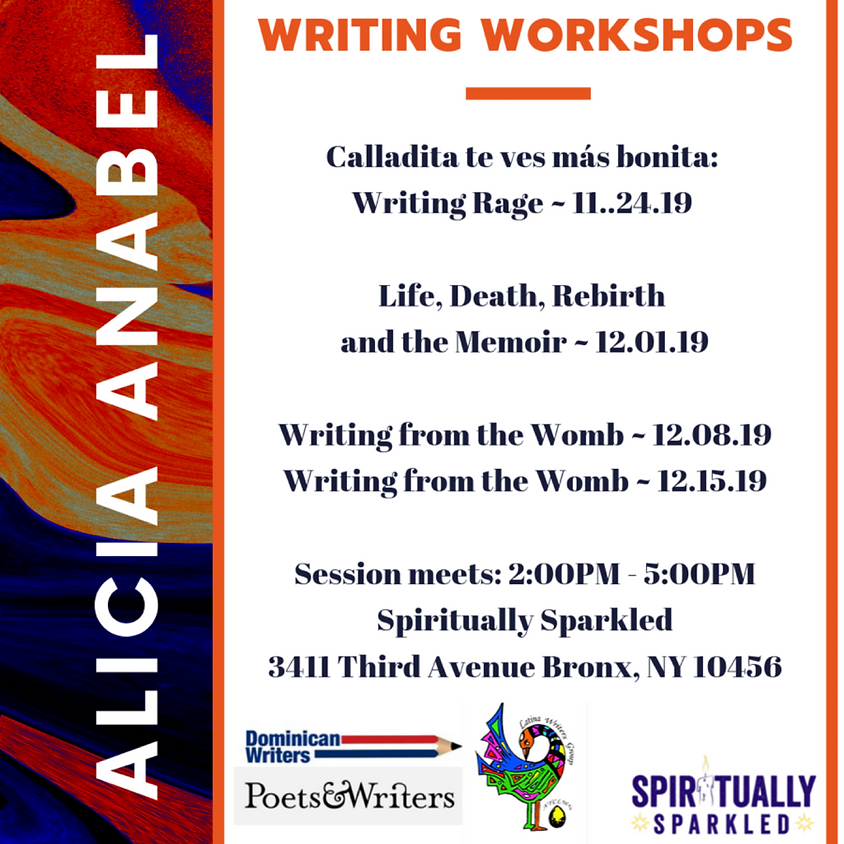 Writing with Alicia Anabel