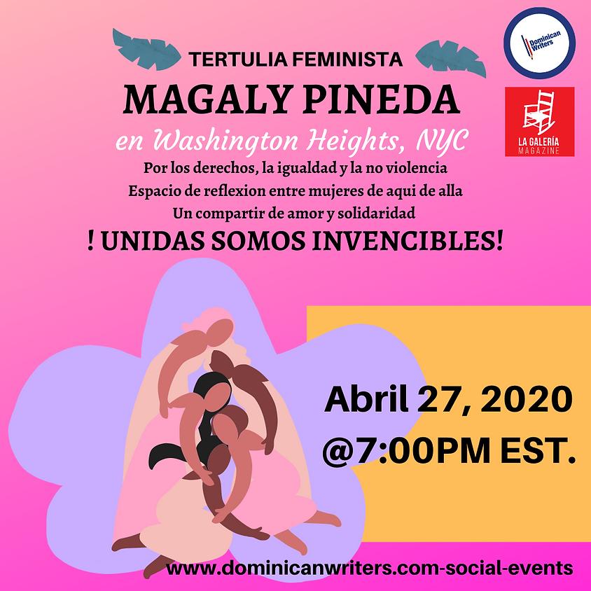 Tertulia Magaly Pineda en Washington Heights, NYC