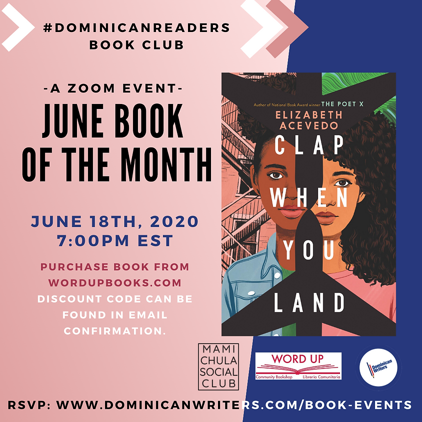 Dominicanreaders: Clap when you Land