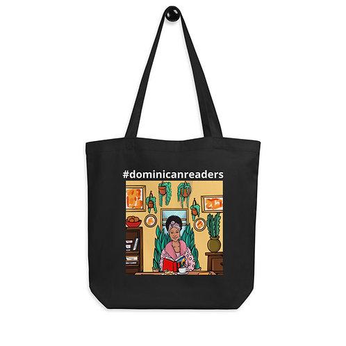 #dominicanreaders Tote Bag (woman reading)