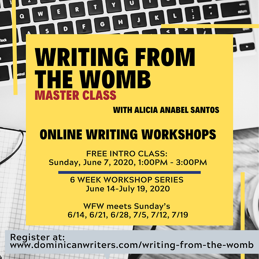 Writing from the Womb Free Intro Class