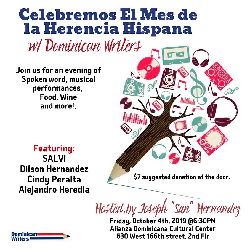 Celebrando El Mes de la Herencia Hispana w/ Dominican Writers