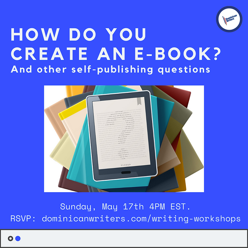 How do you create an e-book? And other Self-publishing Questions