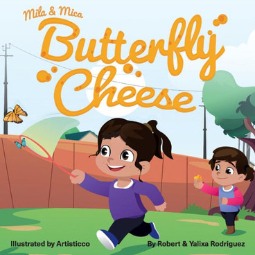 Mila & Mica Butterfly Cheese