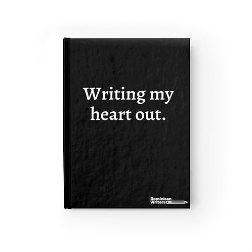 Writing my heart out-Journal - Ruled Line
