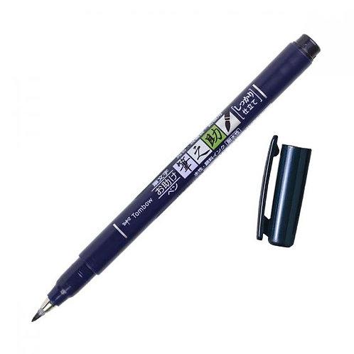Tombow Brush Pen Hard Tip (blue)