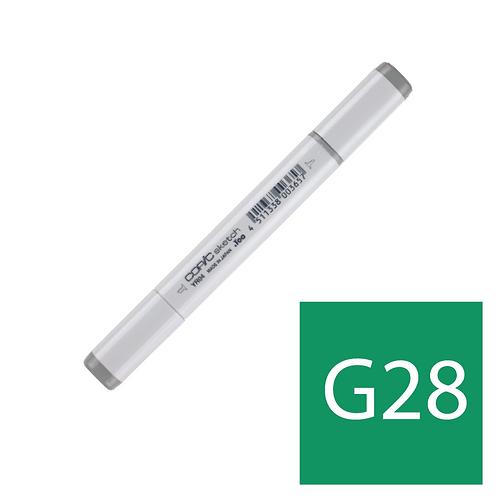 Sketch G28 Ocean Green