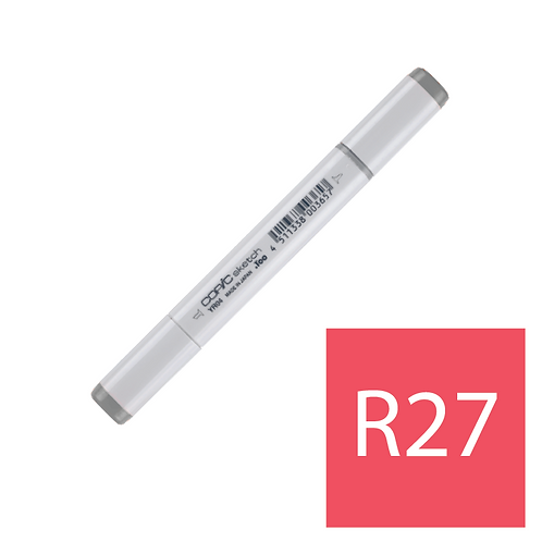 Sketch R27 Cadmium Red