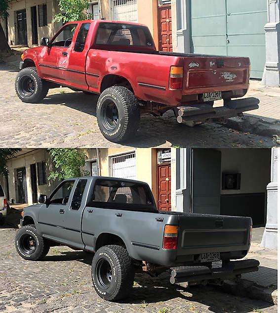 Toyota ploteo completo