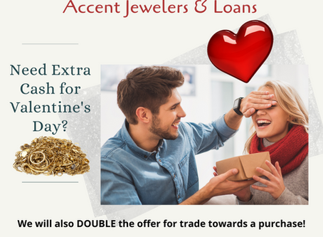 Cash for Valentine's Day!