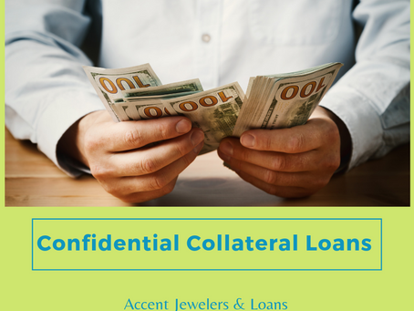 Confidential Collateral Loans