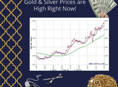 It's a Great Time to Sell Your Gold & Silver!