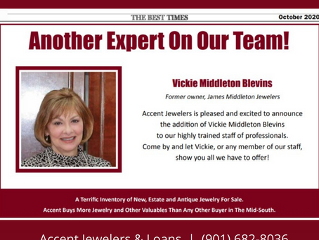 Accent Welcomes Vickie Middleton Blevins