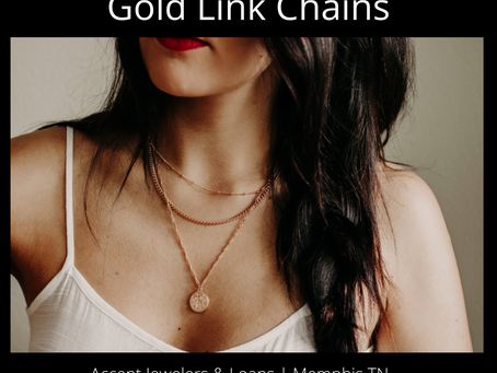 Gold Link Chains - It's What's Hot!