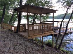 Dock - House for Sale on Lake Hamilton