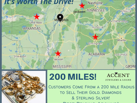 Customers Come from a 200 Mile Radius!