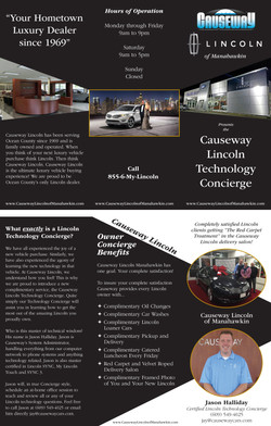 Causeway Ford Lincoln Brochure