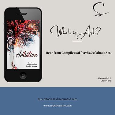 WHAT IS ART? ARTISTICA, AN DEFINITION OF ART...