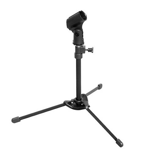 Hamilton KB810 Nu-Era Lightweight Tabletop/Kick Drum Mic Stand w/ Mic Clip, Bag