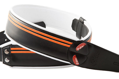 Right On Straps Harley HD Race Strap Black/Orange