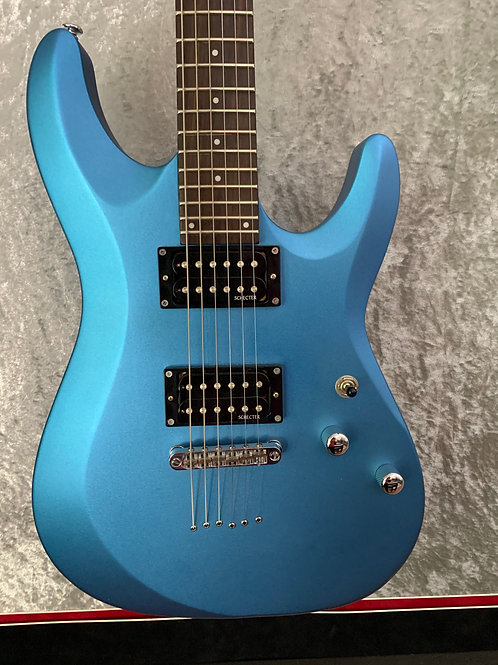 Schecter  C-6 Deluxe Metallic Blue