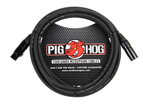 Pig Hog Tour Grade Microphone Cable  25ft