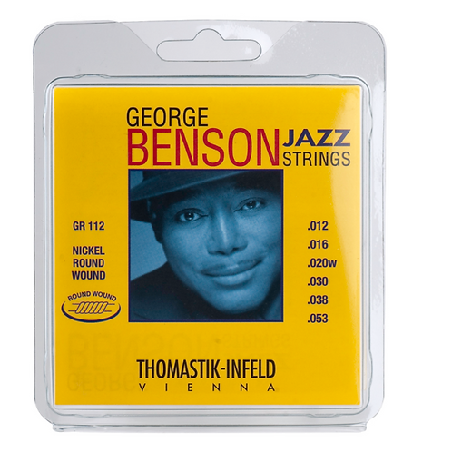 Thomastik-Infeld GR 112 George Benson Jazz Nickel Round-Wound Guitar Strings - M
