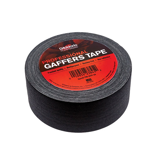 "D'Addario Gaffers tape 2""x25yds"