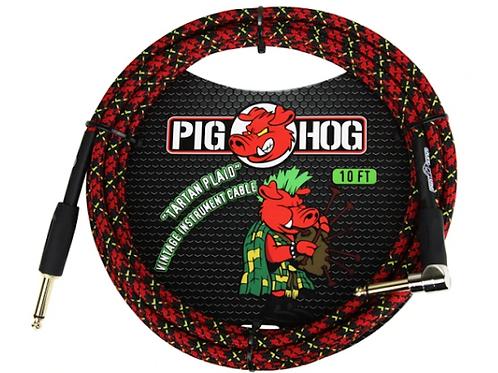 Pig Hog PCH10PLR Tartan Plaid