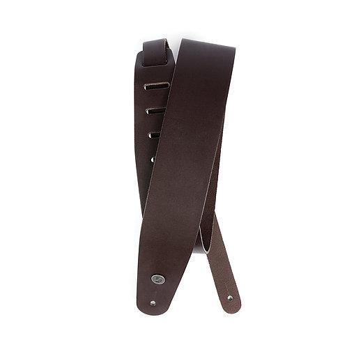 D'Addario Classic Leather Guitar Strap Brown