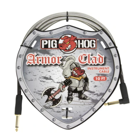 Pig Hog Armor Clad Instrument Cable 10Ft