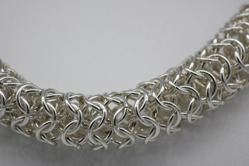 """Chainmaille Boa Bracelet 8.5"""""""
