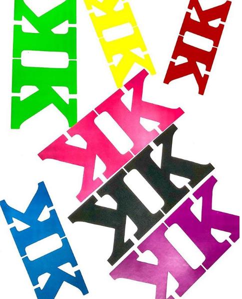 KK 'transfer' Stickers