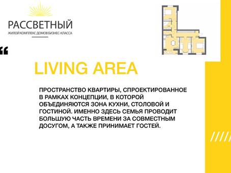 """КУХНЯ-ГОСТИНАЯ  - """"LIVING AREA"""""""