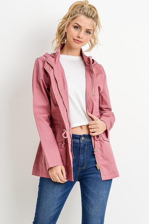 Blush Anorak Hooded Jacket