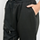 Thumbnail: Black Jogger Ankle Pants
