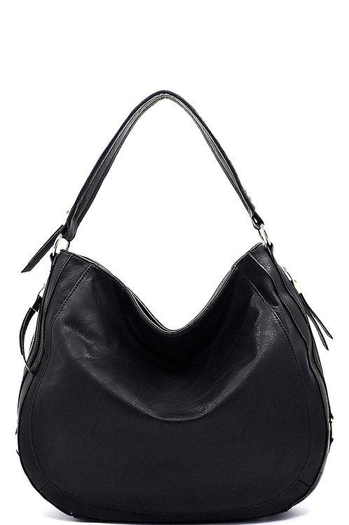 Black Hobo Oversized Bag