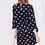 Thumbnail: Black and White Polka Dot Dress