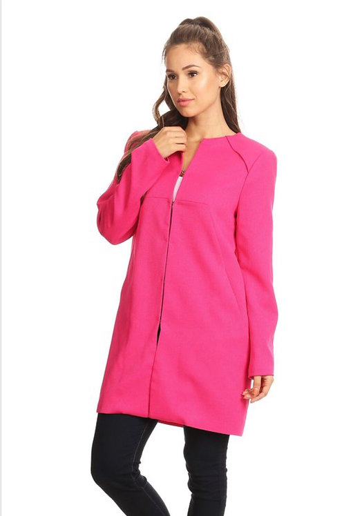 Pink Lightweight Coat