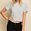 Thumbnail: Black and White Striped Crop Top