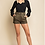 Thumbnail: Olive Green High Waisted Shorts