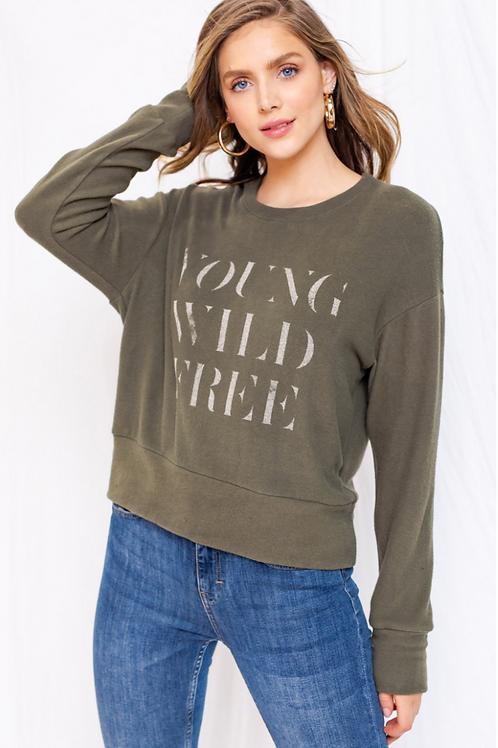 Young Wild Free Sweatshirt