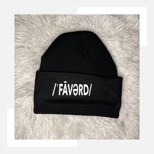 Faverd Black Beanie
