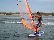 escuela de windsurf en el rompido, huelva
