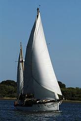 paseo en velero clasico en el rompido huelva