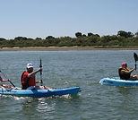 alquiler y paseos en kayak en el rompido huelva